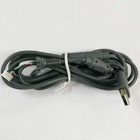 Wired Controller Maniglia Cavo di Interfaccia 2.8 M 4Pin di Collegamento Linea di Riparazione Per XBOX 360 360 controller Nero Grigio Cavo USB