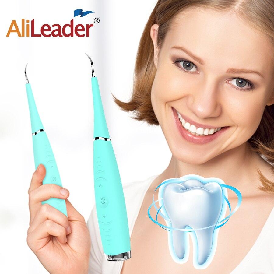 Portable Blanchiment Des Dents Dents Épierrage Détartrage Dentaire Outils Blanc Dents Nettoyeur À Ultrasons Nettoyage menthe Bleu Rose Couleurs