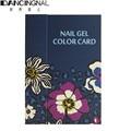1pcs Professional 180 Colors Nail Art Color Book Chart Salon Acrylic Gel Polish Tips Display Show Card Blank Platter Book Tools