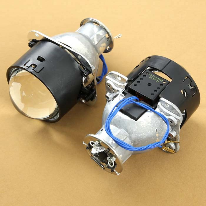 FREE SHIPPING, DLand BOSC HID PROJECTOR LENS 2.8 INCH BI XENON H7 AND D2S BULB new m803 2 5 car motorcycle universal headlights hid bi xenon projector kit and m803 hid projector lens for free shipping