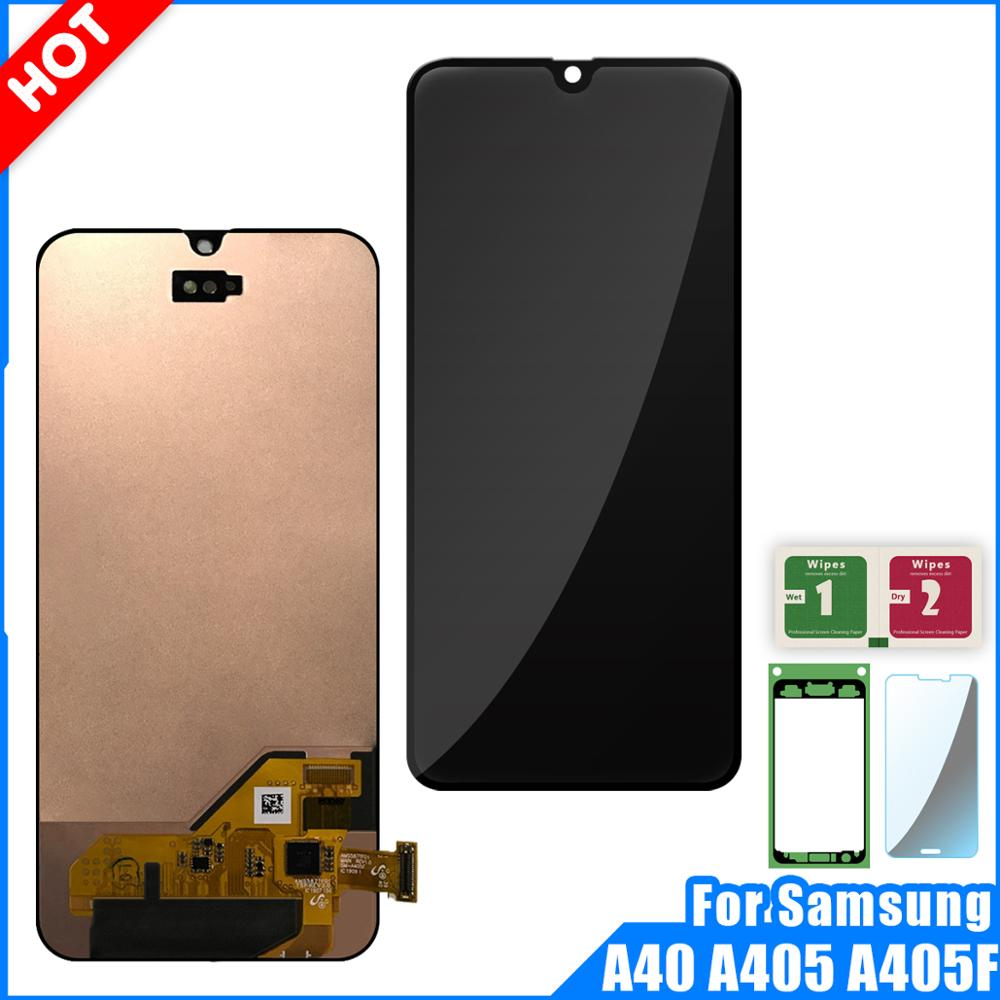 LCD Display For Samsung galaxy A40 A405 A405F Display Touch Screen Digitizer Assembly For Samsung A40 A405 LCD Replacement PartsLCD Display For Samsung galaxy A40 A405 A405F Display Touch Screen Digitizer Assembly For Samsung A40 A405 LCD Replacement Parts