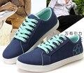 2015 caliente de La Manera estudiantes zapatos de lona zapatos de lona Para Hombre zapatos Casuales de Alta calidad, cómodo, asequible