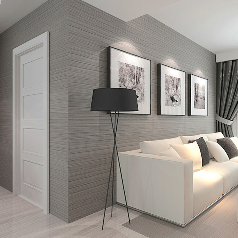 3D Wallpaper Modern Simple Plain Color Non-Woven Wallpaper Living Room TV Sofa Bedroom Restaurant Backdrop Wall Paper Home Decor simple striped lines modern wall papers home decor wallpaper for living room bedroom tv sofa background wallpaper for walls 3 d