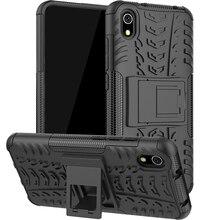 For Xiaomi Redmi 7A Case Shockproof Armor Rubber Hard PC Phone Bumper Back Cover 7a Fundas