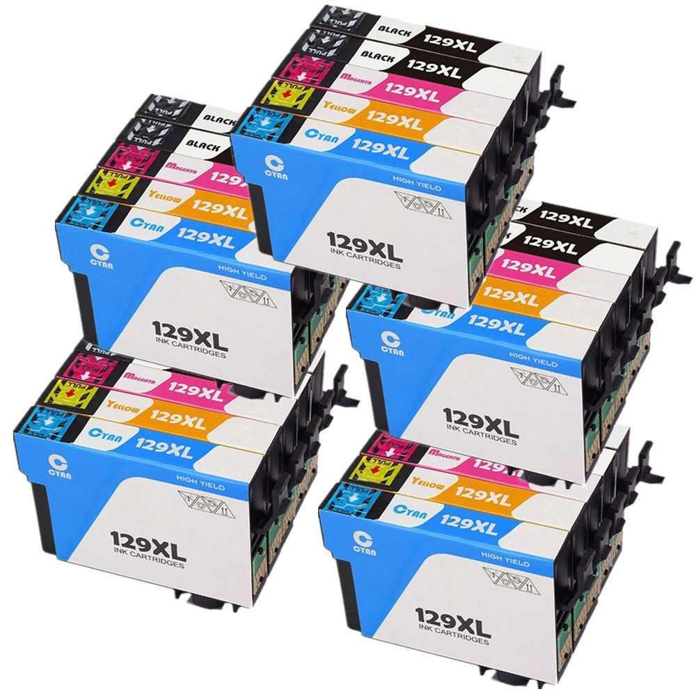 25 T1291 T1292 T1293 T1294 Mürekkep Kartuşu Için Epson Stylus SX230 SX235W SX420W SX425W SX430W SX435W SX438W SX440W Yazıcı