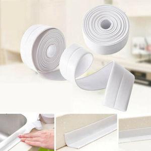 Image 2 - Pegatinas de baño impermeables antihumedad autoadhesivas de Pvc para pared mosaico de cocina