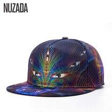 Brands NUZADA Color Printing Exquisite Men Women Hat Hats Baseball Cap Bone Cotton Hip Hop Snapback Caps
