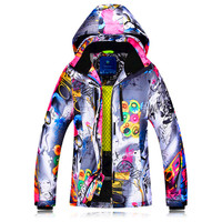 Winter Ski Jacket Women Windproof Waterproof Snowboard Suits Climbing Snow Skiing Female Design Large Size Camping Hiking Suit