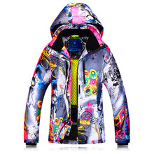 Winter Ski Jacket Women Windproof Waterproof Snowboard Suits Climbing Snow Skiing Female Design Large Size Camping Hiking Suit стоимость