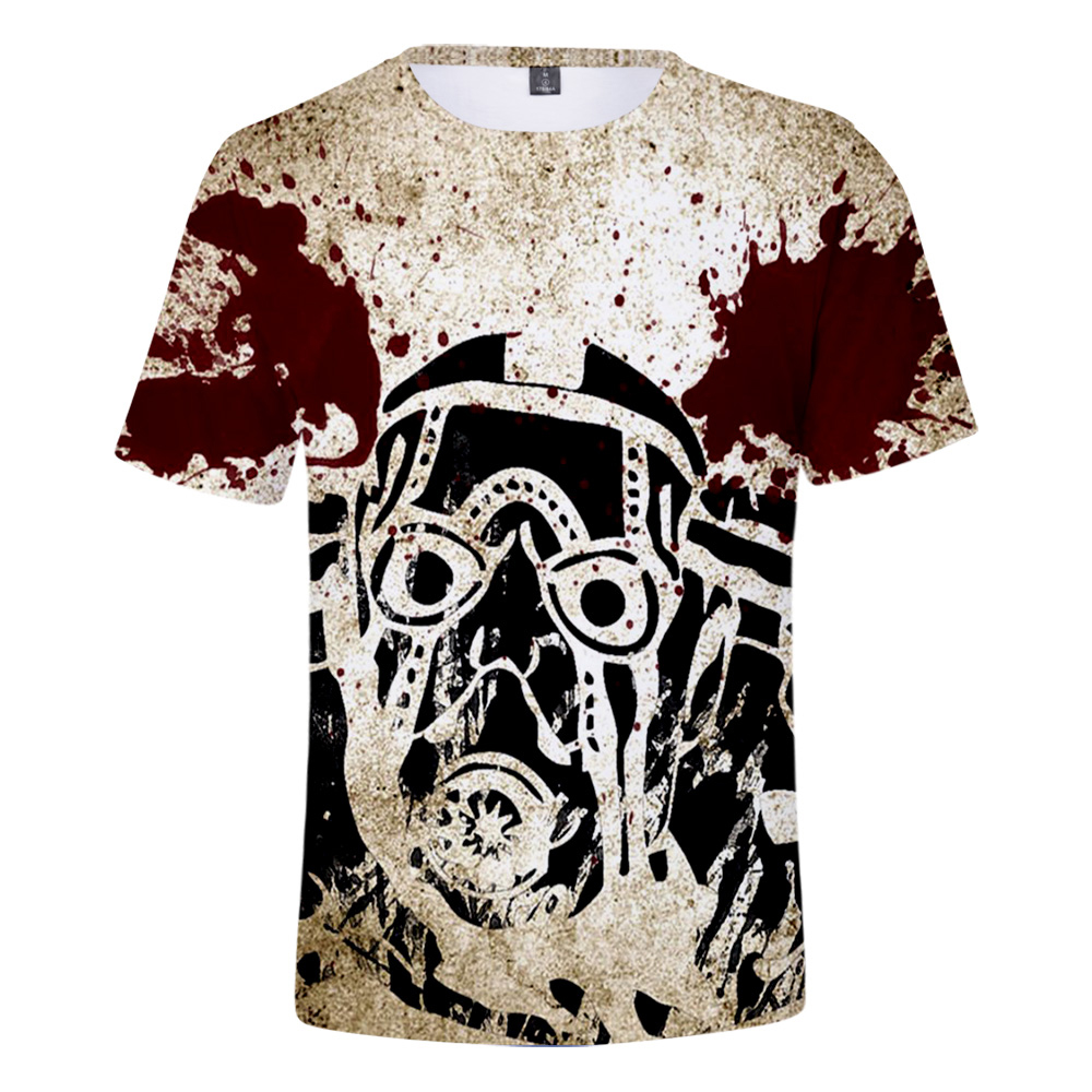 Hot Sale Game Borderlands 3 3D T Shirt Summer Fashion Short Sleeve T Shirt  Leisure 3D Print Novelty Top Luxury Harajuku
