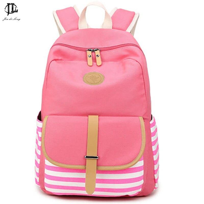 ФОТО *#  korean style backpack unisex big container laptop bag Teenagers school canvas