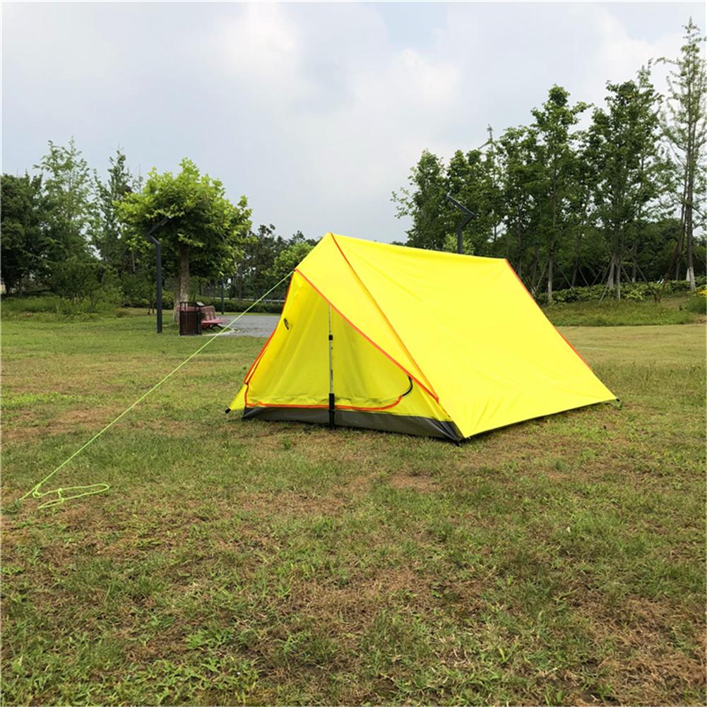 Rodless Portable A-Shaped Camping Tent Single Layer Tent Ultra Light Outdoor Equipment Camping Supplies none pole portable a shaped camping tent mosquito net total yarn net tent ultra light outdoor equipment camping supplies