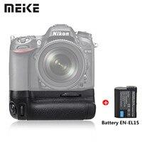 Meike D7100 Meike MK D7100 MK D7100 Vertical Battery Grip Holder for Nikon D7100 D7200 replace MB D15 as EN EL15 With Battery