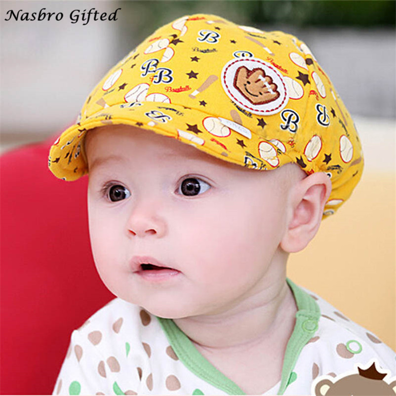 0f05ed09993 High Quality Baby Boy Girl Kid Toddler Infant Hat Peaked Baseball Beret Cap
