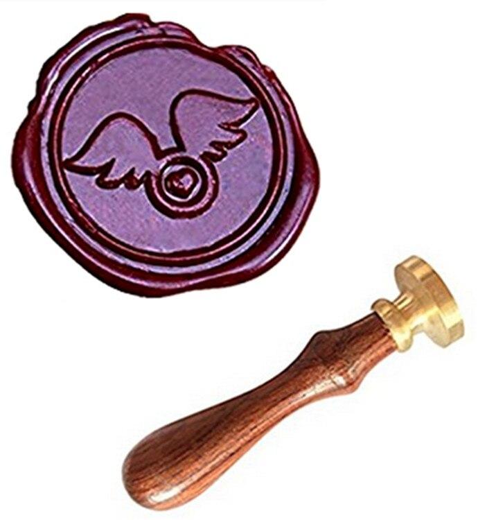 MDLG Wings Of Love Vintage Custom Picture Logo Luxury Wax Seal Sealing Stamp mdlg vintage seals custom picture logo luxury wax seal sealing stamp