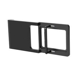 Image 3 - Handheld Gimbal Adapter Switch Mount Plate for GoPro Hero 7 6 5 4 3 for Xiaoyi 1 Yi for DJI Osmo Zhiyun Smooth Q Mobile