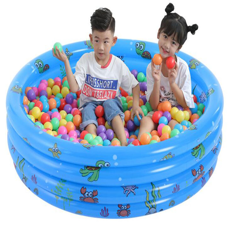 Kids Dry Pool Toys Children Inflatable Thick PVC Playpen For Baby Portable Fence Ball Pit Newborn Outdoor Swimming Pool Crawling