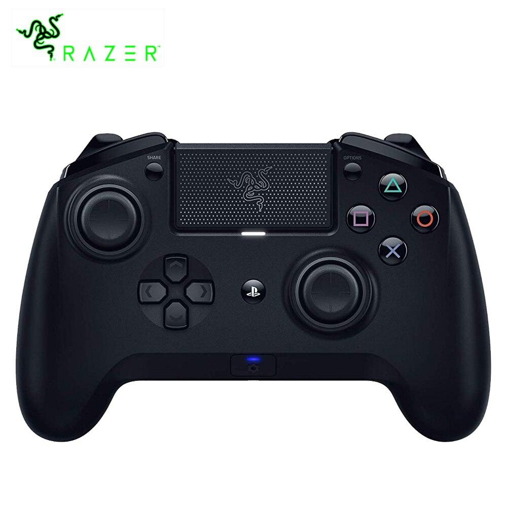 Razer Raiju Torneo Edizione Bluetooth e Connessione Cablata Controller di Gioco Personalizzato Vibrazione Gamepad per PS4 PC Gamer