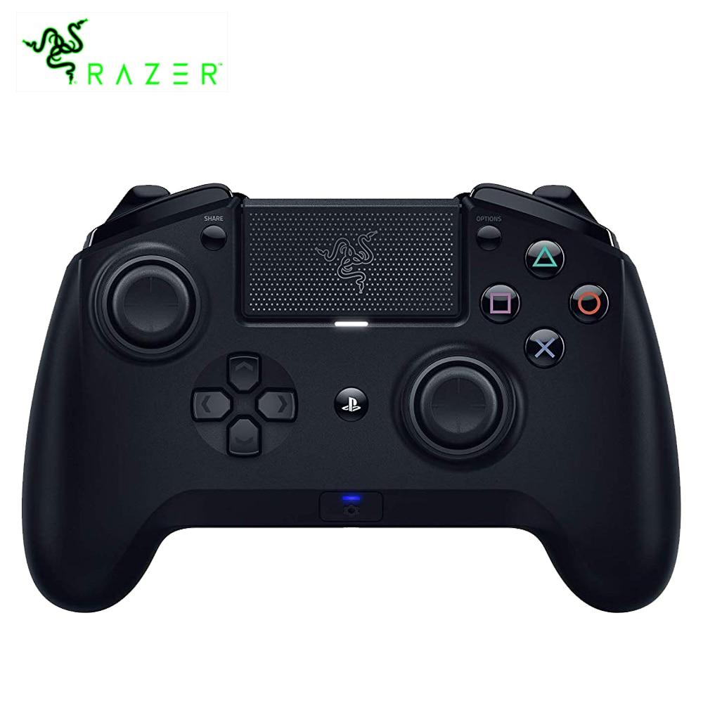 Razer Raiju Tournoi Édition Bluetooth et Connexion Filaire Contrôleur de Jeu Personnalisé Vibration Gamepad pour PS4 PC Gamer