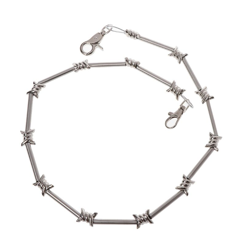 Cool Punk Rock Wallet Belt Chain Metal Trousers Chain Jean Pants Hip Hop Jewelry