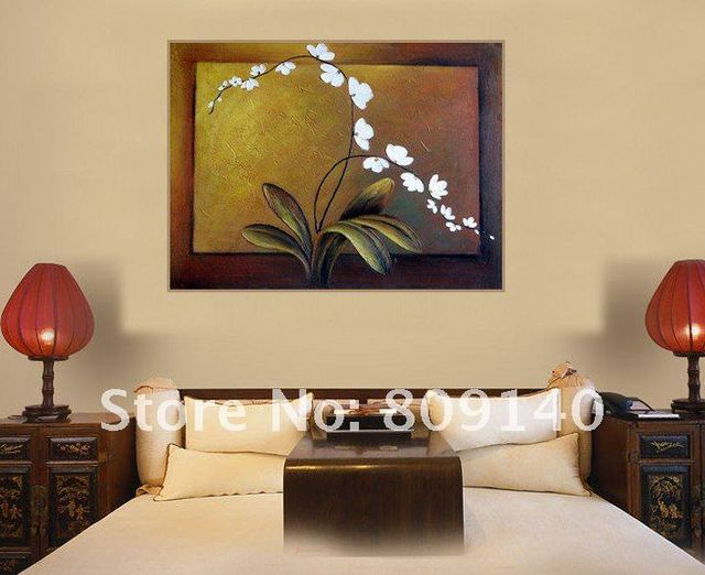 oil painting canvas Simple Modern decoration Flower high quality ...