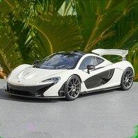 1:18 Масштаб McLaren p1 Расширенный сплава Модель автомобиля, литая металлическая модель игрушка автомобиля, Коллекционная модель бесплатная дос