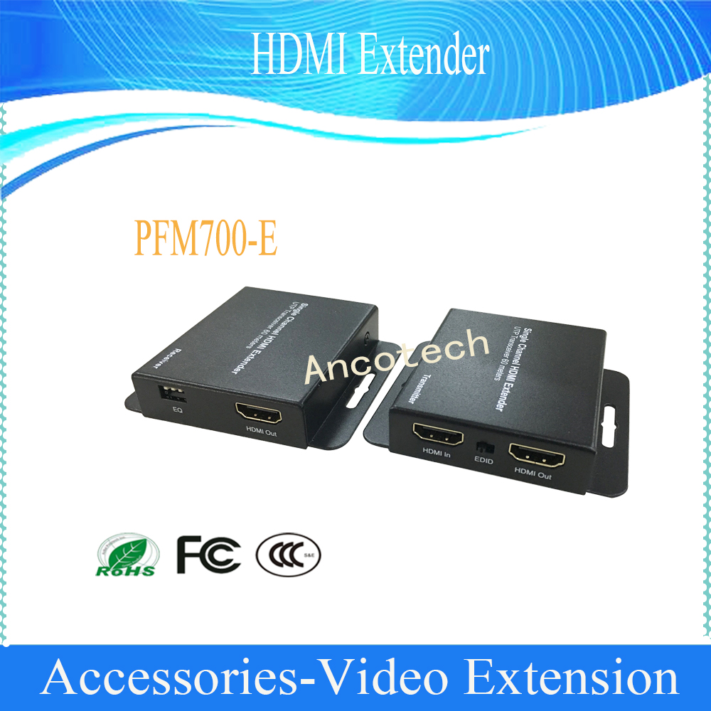 Free Shipping Original Dahua Security Products HDMI Extender Without Logo CCTV Accessories PFM700-E free shipping blueskysea 2k s60 body personal security