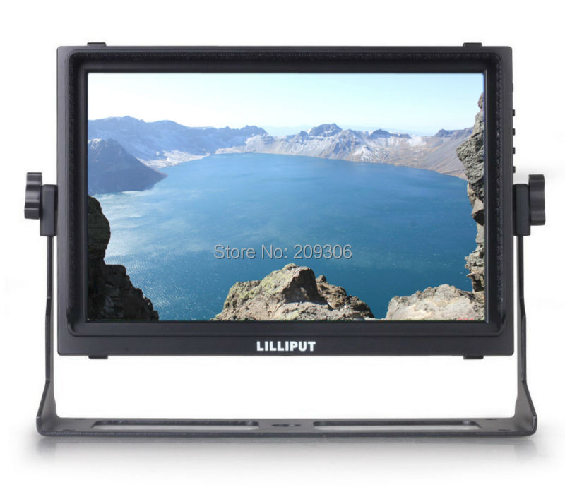 LILLIPUT TM-1018/S 10.1 TFT LED touch 3G-SDI monitor with SDI HDMI input output broadcast quality for DSLR Full HD camcorder
