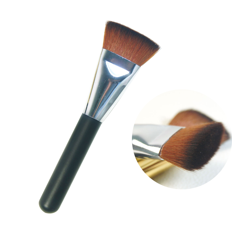 New flat make up brush set contour powder brush set repair face brush for foundation makeup brushes tools women eyebrow blush