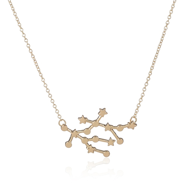cam necklace gold gemini in