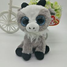 "gabby goat sheep TY BEANIE BOOS collection lamb 15CM 6"" BIG EYE Plush Toys Stuffed animals KIDS TOYS Children toy soft toys"