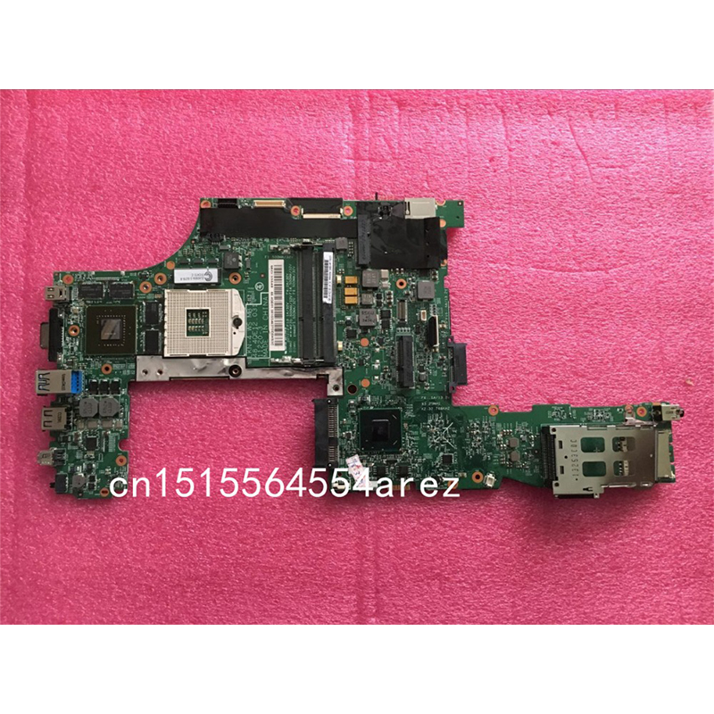 Original laptop Lenovo ThinkPad W530 motherboard mainboard Q1 A2 Graphics FRU 04X1511