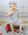 Валентина в форме сердца любовь 1-й пасхальный заяц яйцо летучая мышь герой принцессы новый год серый боди девушки романтический роза детское платье наряд NB-18M
