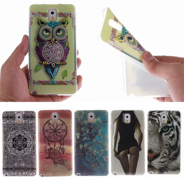 For Samsung Galaxy Note 3 N9002 N9005 N900A N900 Case new brand Silicone Phone Cover for Fundas galaxy note3 SM-N9005 hoesjes