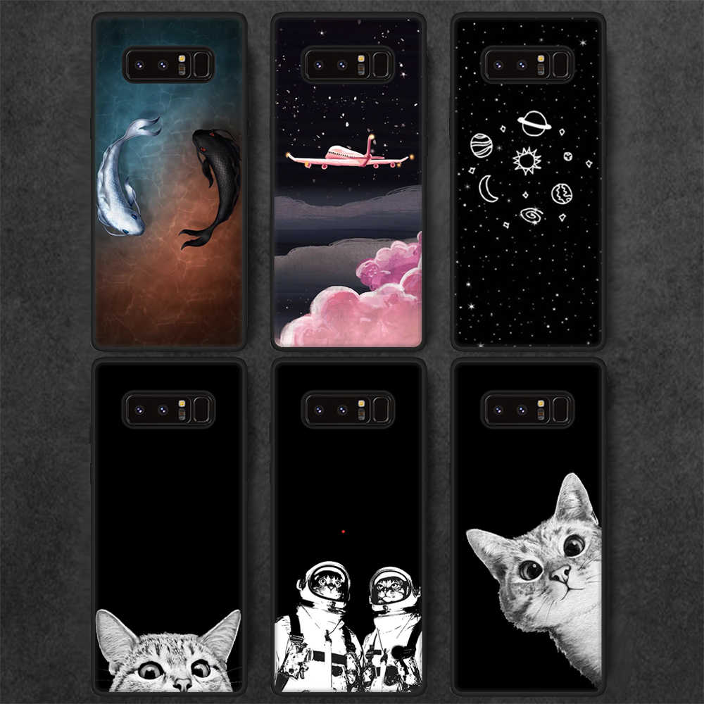 GerTong Pattern Case For Samsung Galaxy S9 S8 Plus Note 8 S7 S6 Edge Phone Shell For Samsung Galaxy S9 S8 Plus Note 8 Back Cover