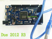 Free Shipping 2pcs Lot For Arduino Due 2012 R3 ARM Version Main Control Board