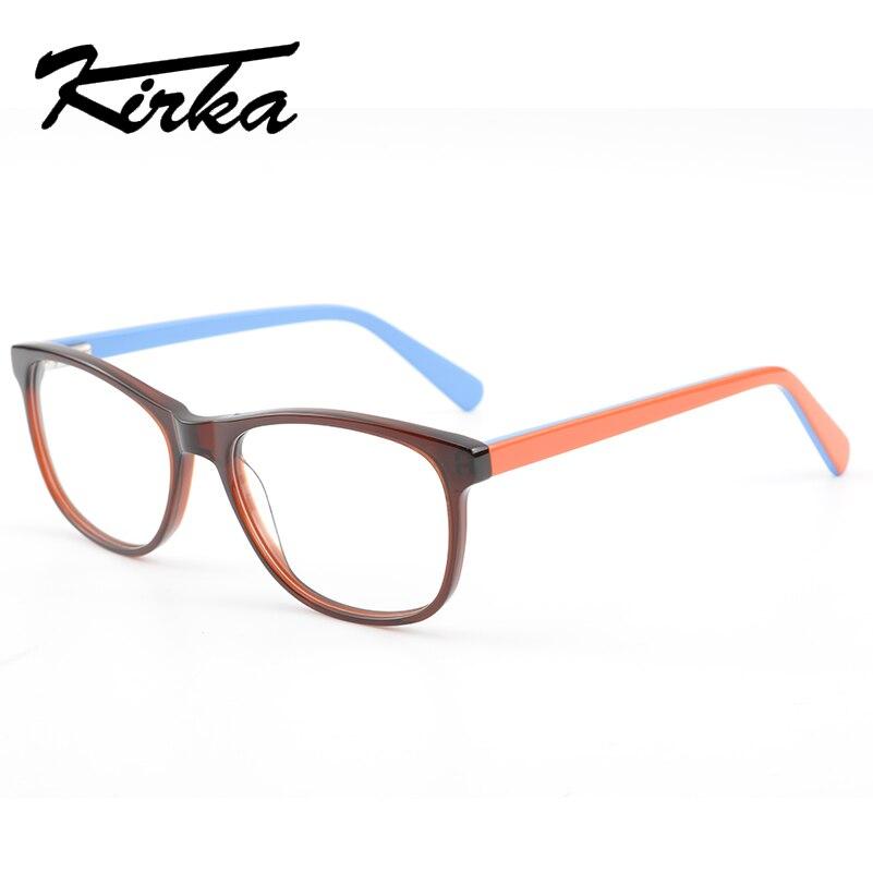 Kirka Frame Glasses Optical Men Eyeglasses Frames Square Mens Spectacles Acetate Eyewear