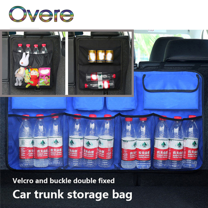 Overe Car Trunk Organizer seat Storage Bag Oxford For Fiat Punto Volkswagen VW Polo Passat B7 B8 Golf 5 6 7 Tiguan