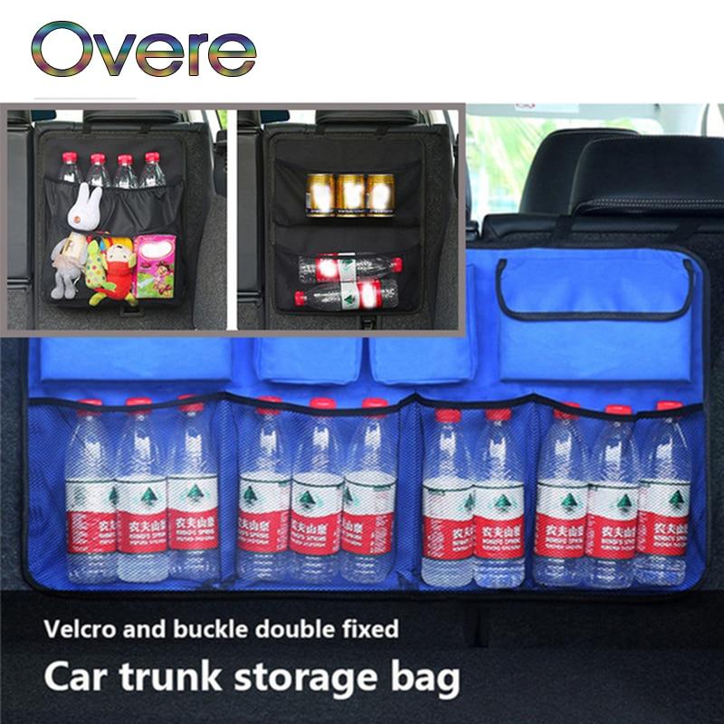 Overe багажник автомобиля, организатор сиденье сумка для хранения Оксфорд для Fiat Punto Volkswagen VW Polo Passat B7 B8 Golf 5 6 7 Tiguan
