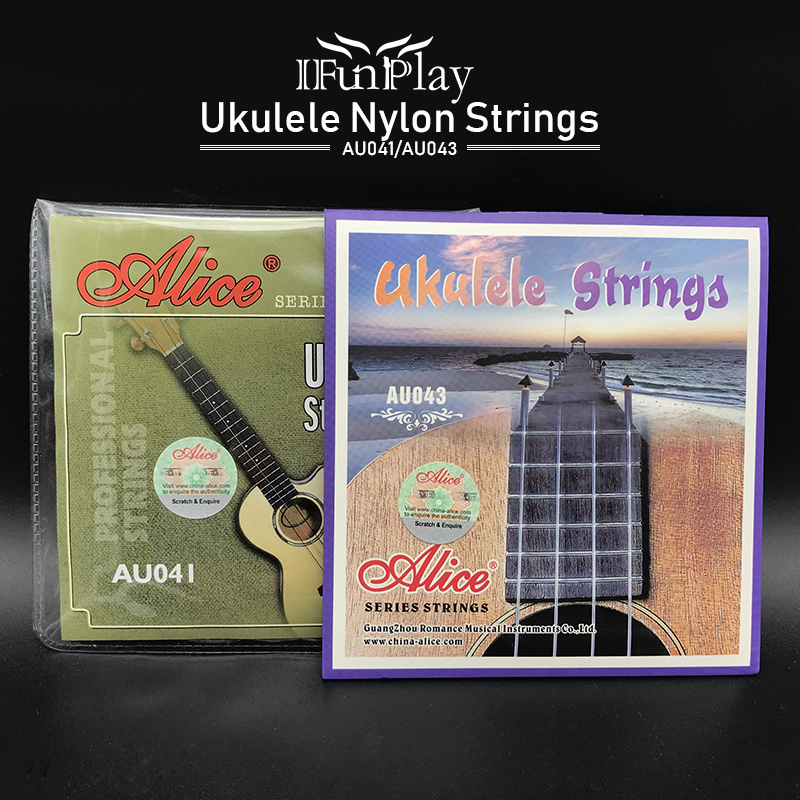 buy alice au041 au043 clear nylon ukulele strings 1st 4th strings for ukulele. Black Bedroom Furniture Sets. Home Design Ideas