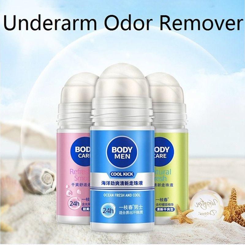 Deodorants & Antiperspirants Beauty & Health 50ml Odor Remover Rolling Bead Armpit Underarm Smell Removal Refresh Body Deodorant Liquid Water Summer Sweat Women Men Supplies