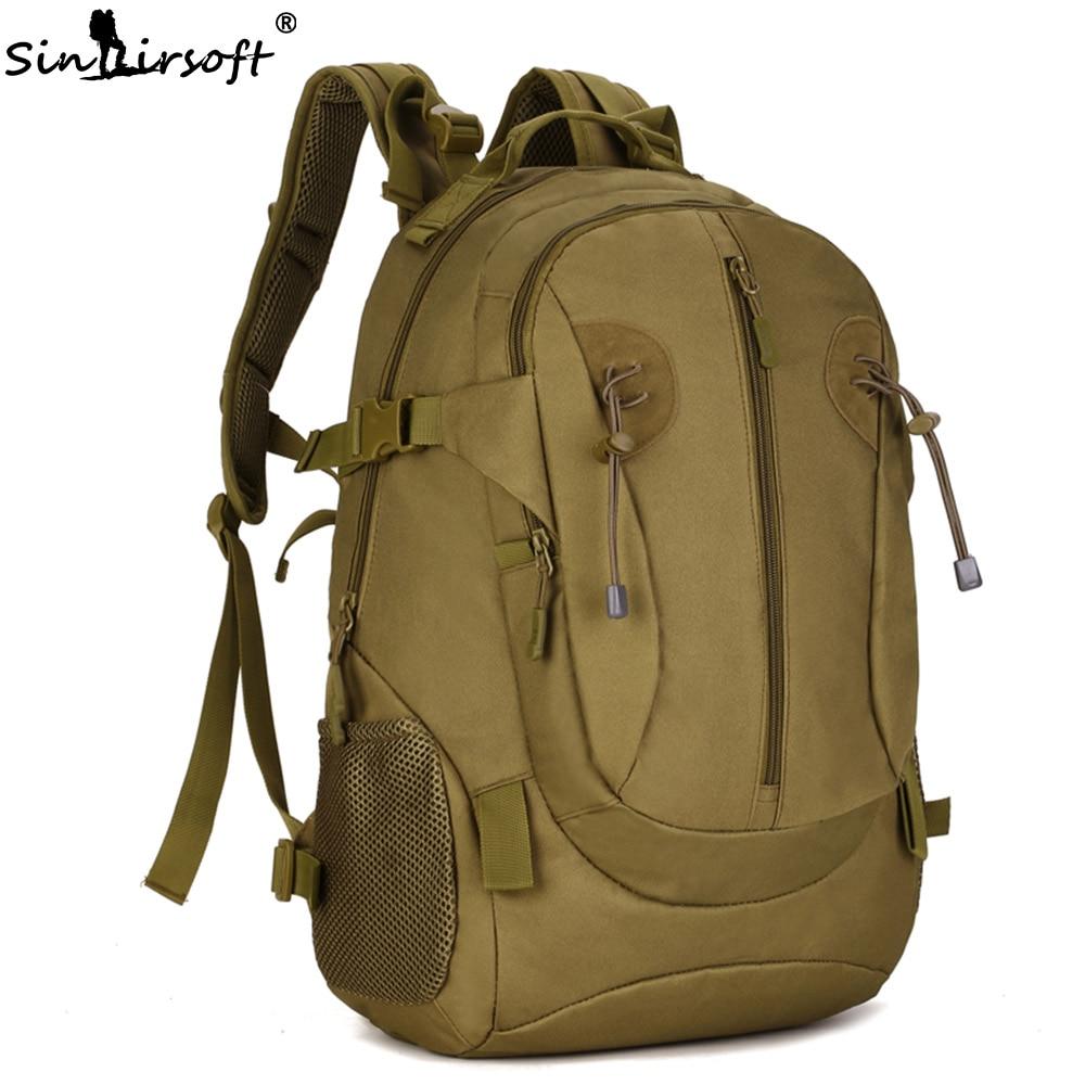 SINAIRSOFT 40L Sports Bag 1000D Nylon kalis air Beg Molle Sukan Taktikal Backpack Tentera Memburu Camping Memancing beg LY0036