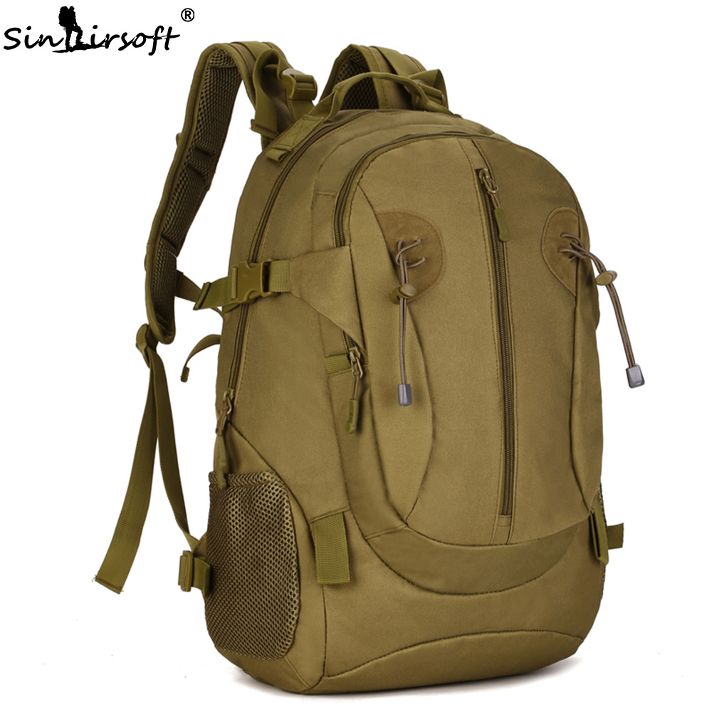 SINAIRSOFT 40L Sports Bag Outdoor 1000D Nylon Waterproof Bags Molle Sport Tactical Backpack Military Hunting Camping Hiking bag emerson 1000d nylon durable portable adjustable military tactical secret underarm pouch outdoor hunting camping accessory bag