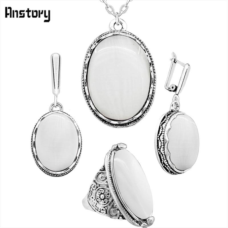 necklace set-White