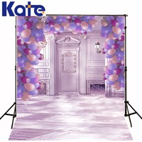 3M*2M(10*6.5 Ft) Kate Gorgeous Photography Backdrop Lavender Balloon Photography Backgrounds For Wedding Background
