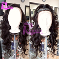 Cheap Lace Front Human Hair Wigs Unprocessed Loose Wave Brazilian Virgin Hair Glueless Full Lace Human Hair Wigs For Black Women