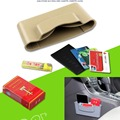 TPE elástico Auto chave cartão de telefone organizador caso caixa de armazenamento de acessórios do carro