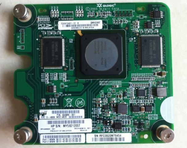 404986-001 4G dual port fiber card QMH2462 405920-001 403619-B21404986-001 4G dual port fiber card QMH2462 405920-001 403619-B21