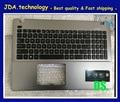 "95% Novo/Orig maiúsculas para Asus X550 X550C 15.6 ""Assembléia Maiúsculas Palmrest com teclado EUA"