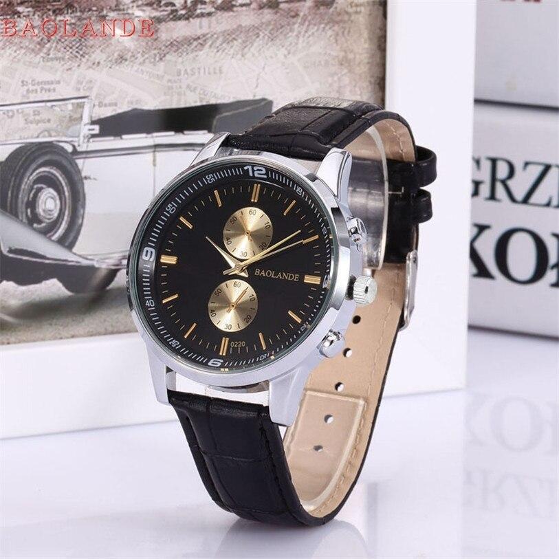 Superior Men And Women Business Numerals Faux Leather Analog Quartz Watch Splendid Ma9
